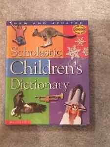 Children's scholastic dictionart