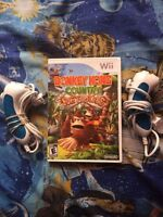 Wii Nunchuks and Game