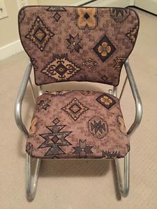 Child's Mid-century modern rocking chair - Restored