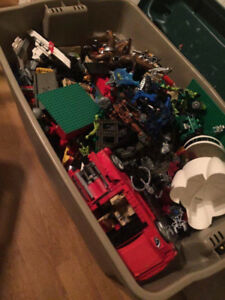 Big Bin of Lego  and lego accessories