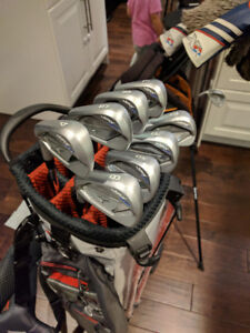 Mizuno JPX 900 Iron Set with Project X Shafts - LH Left Handed