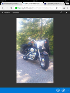 Harley $6500 or trade for the right atv