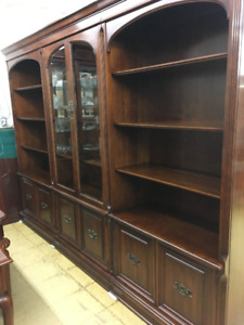Gibbard Solid Cherry Wall Unit