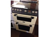 60CM CANNON FAN ASSISTED DOUBLE OVEN ELECTRIC COOKER1943
