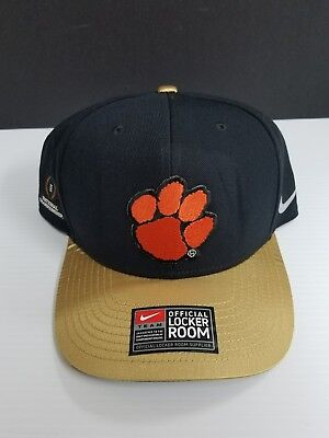 Clemson Tigers College Football 2016 National Champions Official Locker Room Hat College Football Locker Room