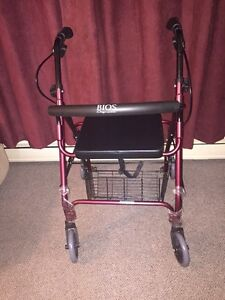 REDUCED Brand New Bios Walker With Wheels - PLUS 2 FREE CANES !