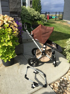 Bugaboo Cameleon stroller with travel bag-Great condition!