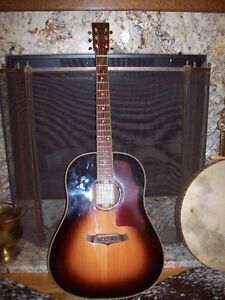 have a very nice tangle wood rosewood guitarn