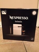 Nespresso inissia coffee machine for sale