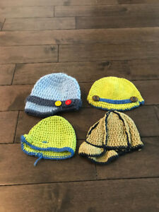 4 - Infant Boys Toques, Size 3-12 months, ALL for $5