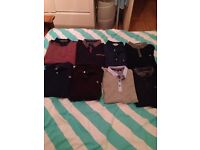 X8 men's polo-shirts size large