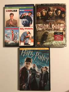 Harry Potter 5, Pirates of the Caribbean, Bruce almighty, etc