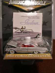 1/64 scale 1960 classic Ford Starliner