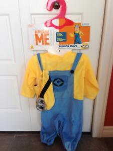 Costume Minion enfant de 1-2 ans