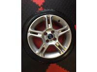"4x108 X 16"" ALLOYS FORD FIESTA PRICE DROP VERY GOOD ORDER"
