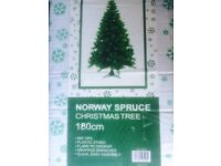 Norway spruce 6 ft Christmas artificial tree.