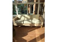 Wicker sofa for sale
