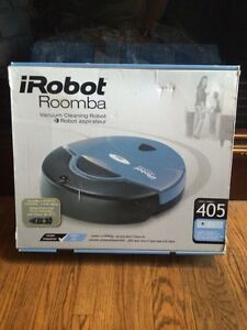 Roomba 405 robotic vacuum cleaner with remote