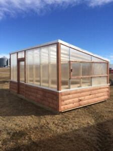 Greenhouses ,Horse sheds