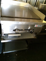Restaurant Griddles and Ranges for Restaurant Food Preparation
