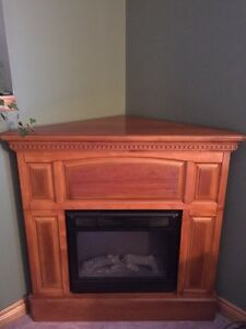 Electric Oak Fireplace
