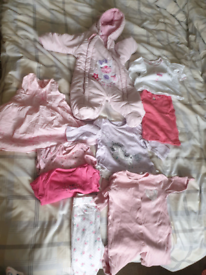 3-6M baby girl clothes
