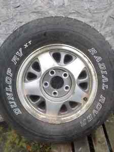 Chevy tire/rim..(S10/Sonoma/Jimmy..)