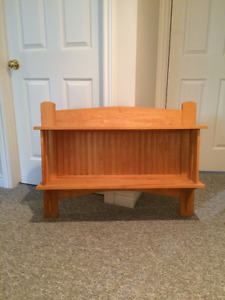 Wall Shelf- Maple- Handcrafted