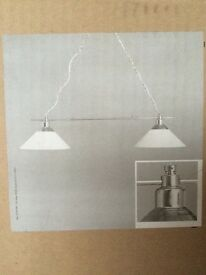 2x kitchen light fittings