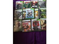 13 Xbox 360 games bundle