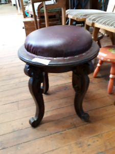 Nicely Carved Stool