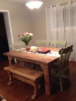 Farm Harvest Style Tables