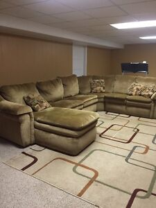 Lay z boy sectional