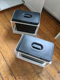 IKEA HALLBAR kitchen storage, bin, box