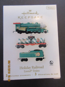 Hallmark Keepsake Ornament - 2008 Holiday Railroad (Lionel Train