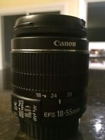 Canon EFS 18 to 55 mm IS Lens