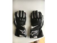Alpinestars SP8 Leather Motorcycle Gloves