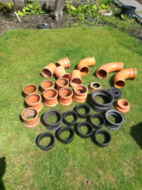 Plastic drainage pipe parts and accessories