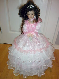 """Cathay Collection porcelain Doll - 24"""""""