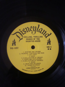 DISNEYLAND HAUNTED HOUSE LP COLLECTOR MINT!!