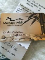 Massage Addict $60 gift card. Valentines gift?