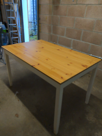 IKEA dining table rustic