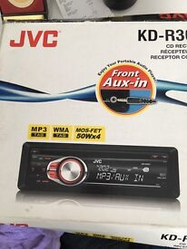 JVC Car radio / stereo forsale with aux connection