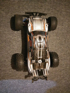 Traxxas Rustler with many upgrades for sale or trade