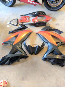 OEM fairings for GSXR 600-750, 2008-2010