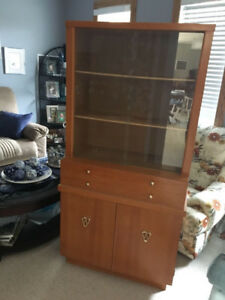 Wooden Hutch and Buffet