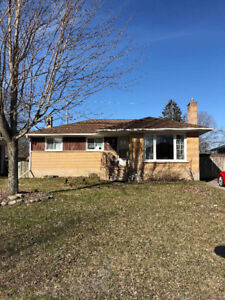 3 BR whole house North end of Ptbo on a quiet street