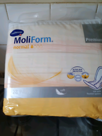 New Sealed Hartmann Incontinence Pads