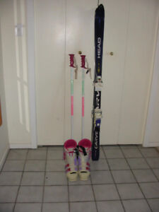Women's (Girls) ski package.