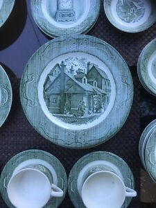 The old curiosity shop China dishes collectablea